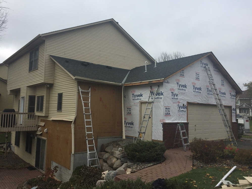 New Siding from Minnesota Roofing Company