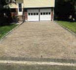 driveway, pavers, asphalt, stairs