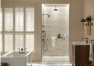 photo of bathroom with Kohler Choreograph Collection from New Bath Today