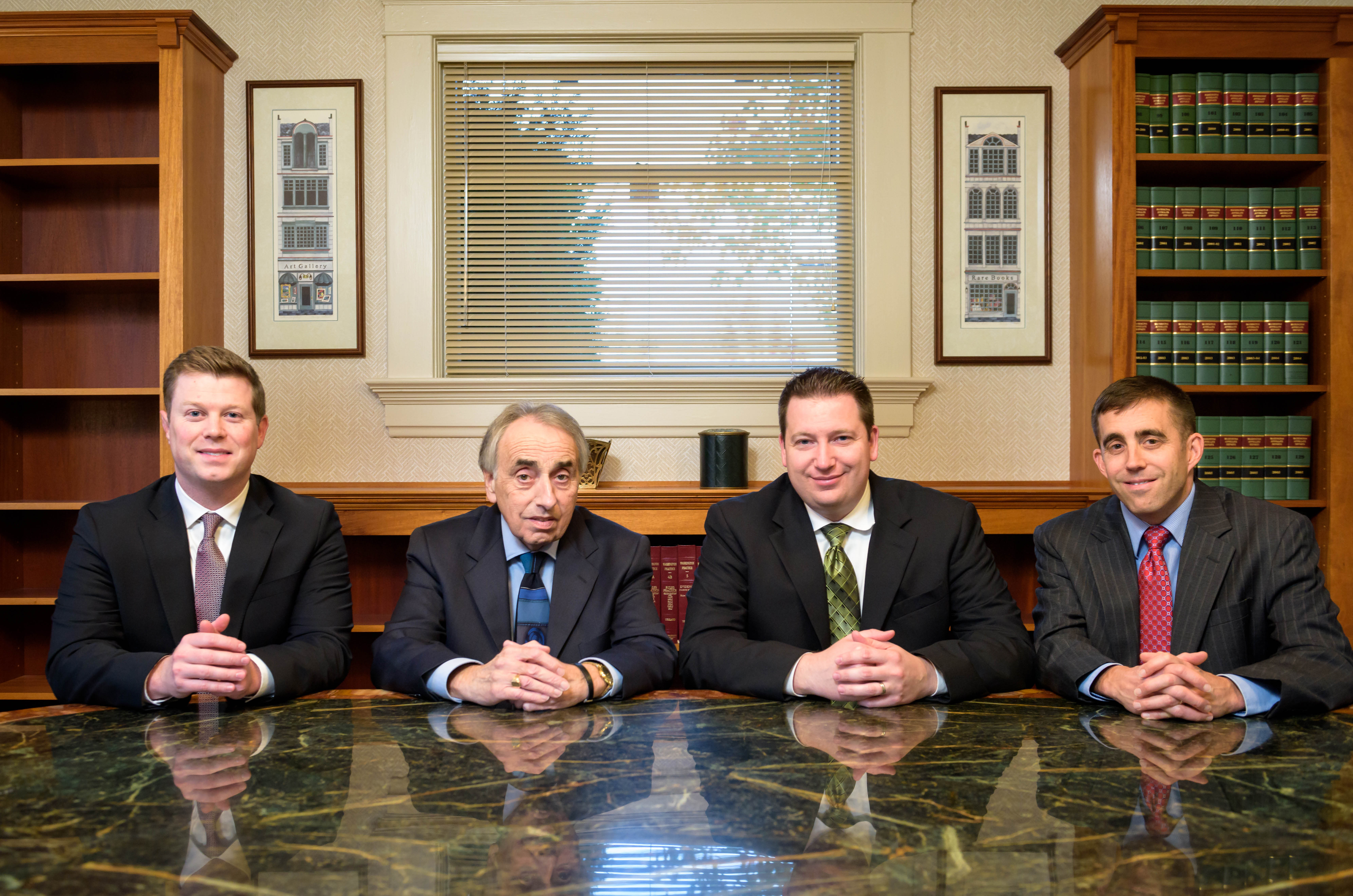 Bellingham Car and Work Accident Lawyers - Robinson and Kole Team Photo