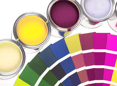 Wide variety of paint colors - let us help you choose your color palette