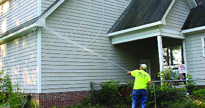 house pressure washing services