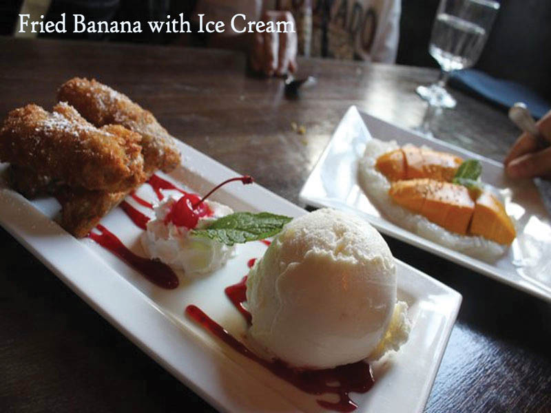 Noppakao Thai restaurant in Everett, WA has a large variety of the best desserts - Thai food near me - Thai food coupons near me