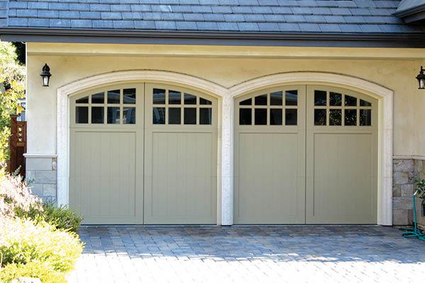 Double garage doors by Norm's