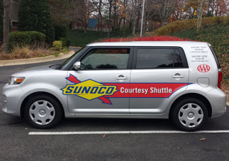 shuttle available in Reston, VA.