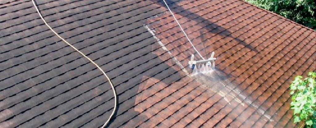 North Star Home Services roof cleaning - moss removal - pressure washing - Seattle roof washing companies near me - Seattle house washing - home improvement coupons near me