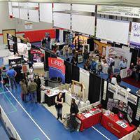 Vendor, exhibits, displays, professional craftsmen at the home show - Andover, MN