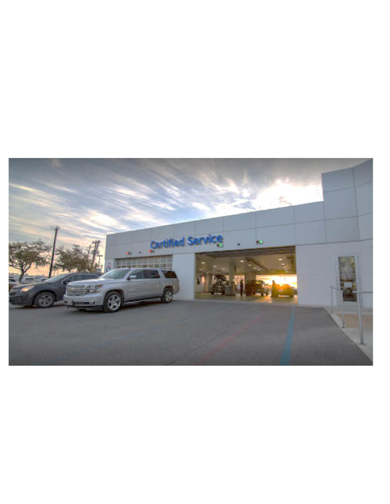 Northside Chevrolet San Antonio Service Department picture