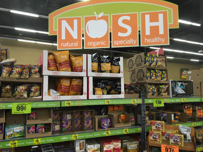 Nosh products Grocery Outlet Folsom,ca
