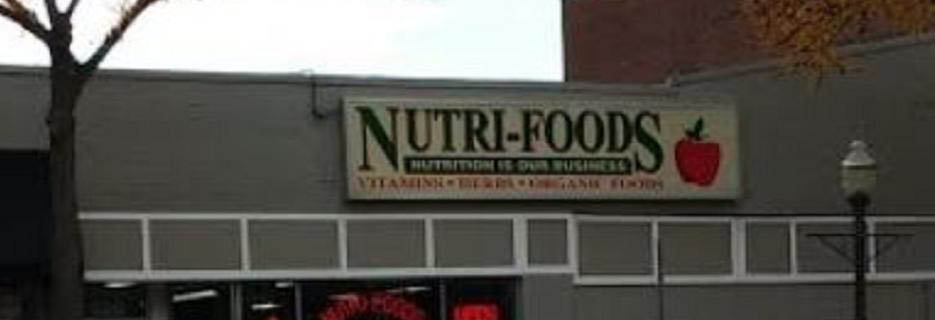 photo of sign at Nutri-Foods of Rochester