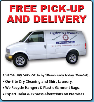 Dry Cleaning, Pick -up , Delivery, Drive through, Cleaners