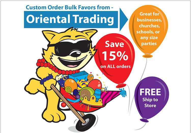 Bulk Oriental Trader orders available in Spring, TX