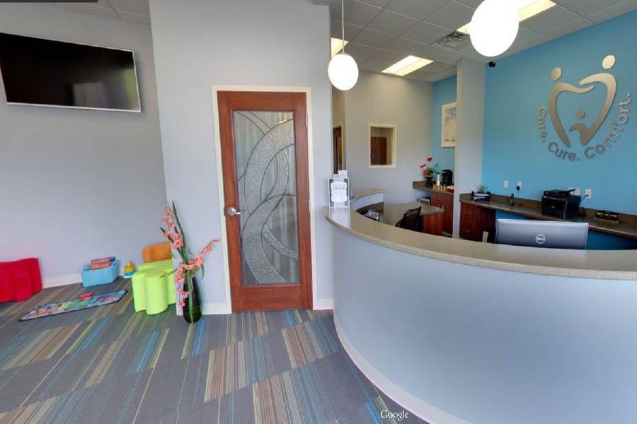 Ohio Family Dentistry, front lobby