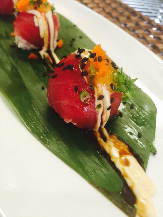 Okini Sushi & Grill's Signature Cherry Bombo dish in Martinez, CA