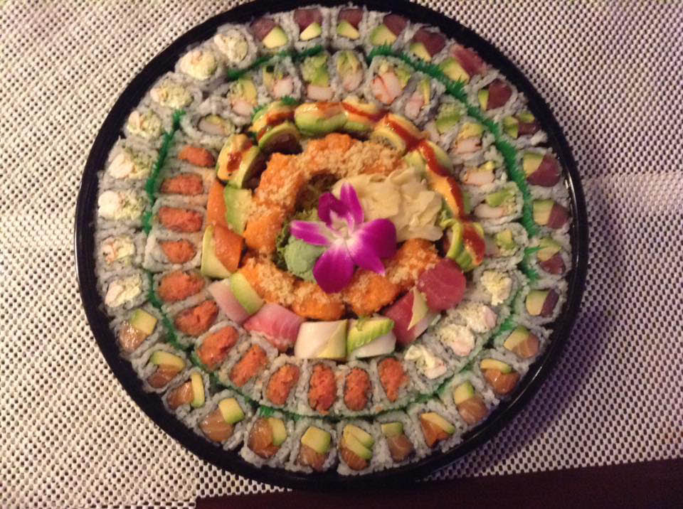 Old Dominion Grill and Sushi in frederick md sushi party tray