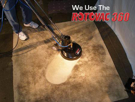 DKB Restoration Carpet Cleaning - we use the Rotovac 360