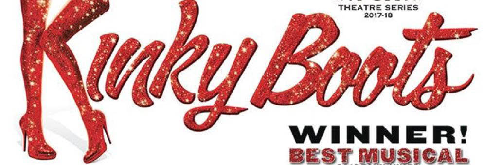 Kinky Boots logo at the Fox Theatre