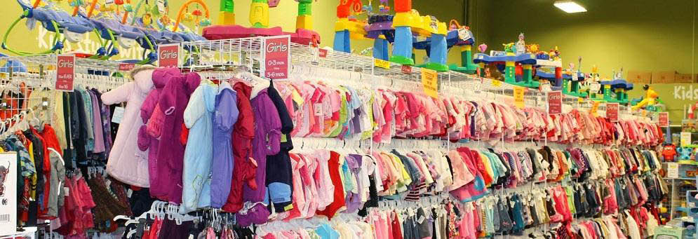 photo of children's clothes & toys at Once Upon a Child in Novi, MI
