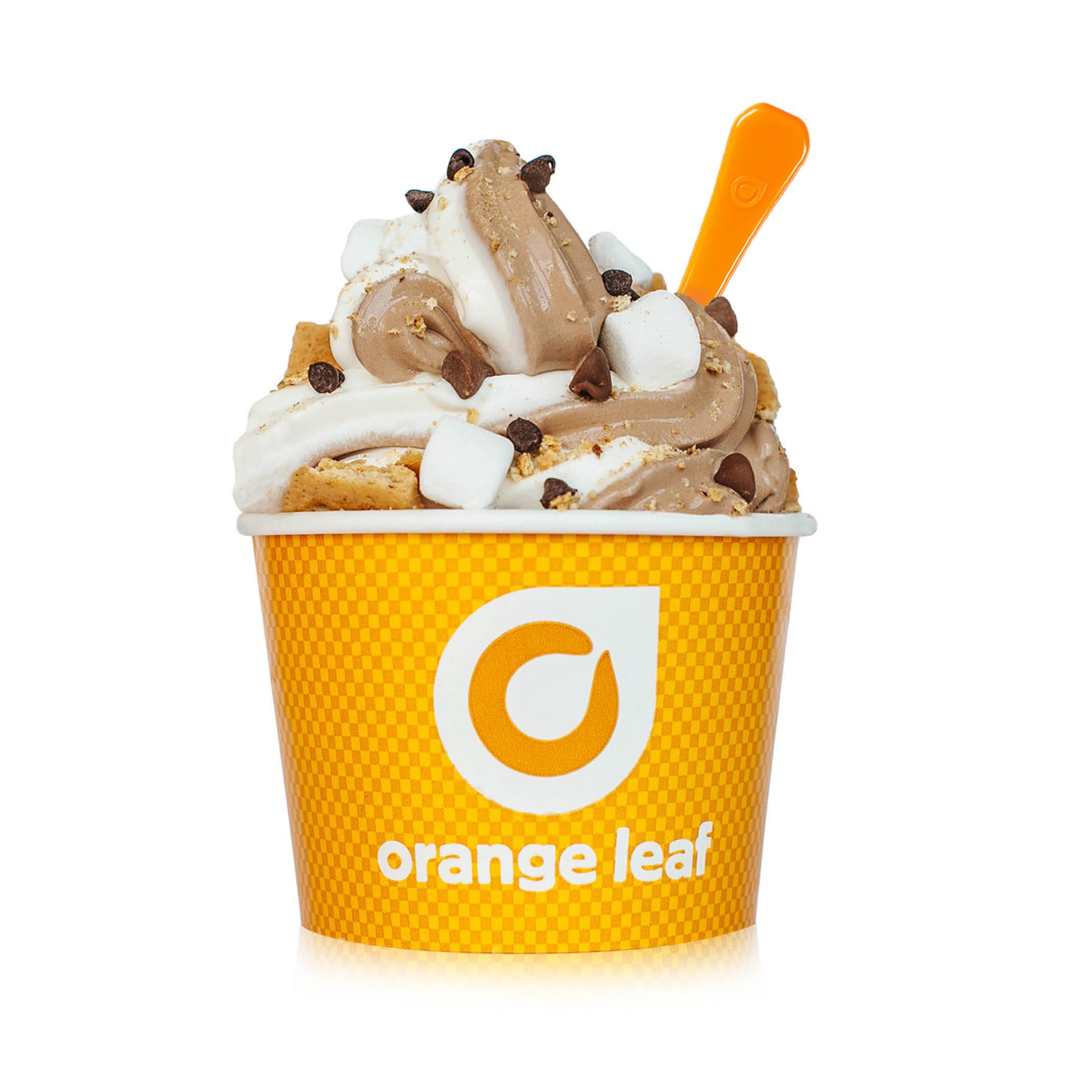 Orange Leaf Ice Cream