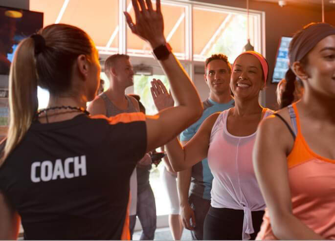 Orangetheory Fitness in Puyallup, Washington - support from coaches - find your fit family - Orangetherapy Fitness near me - Orange Therapy Fitness near me