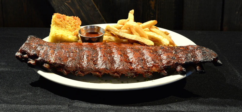 BBQ Ribs available at O'Reilly's Pub and Grill in Newton NJ