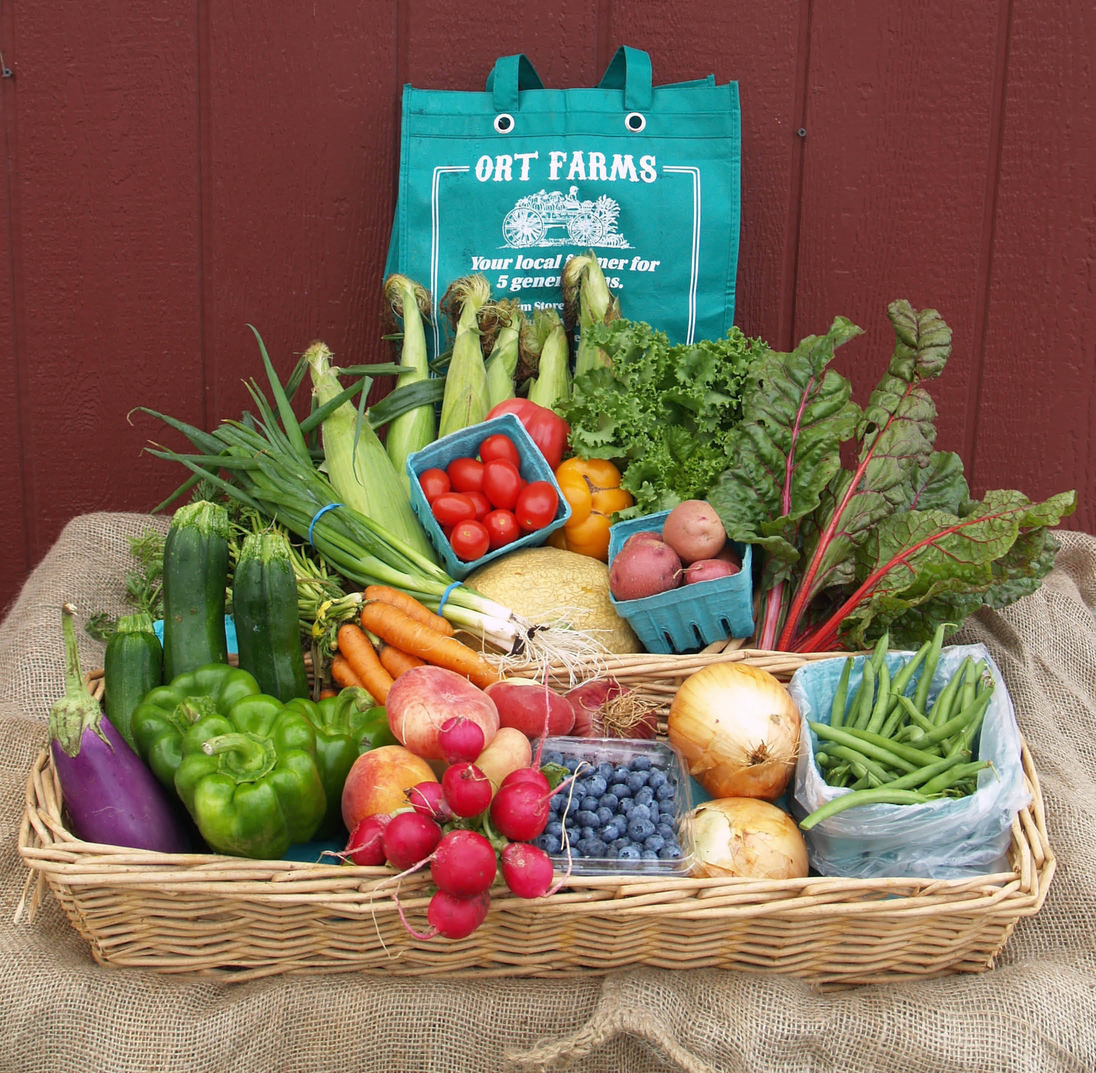 Ort Farms CSA Program in Long Valley NJ