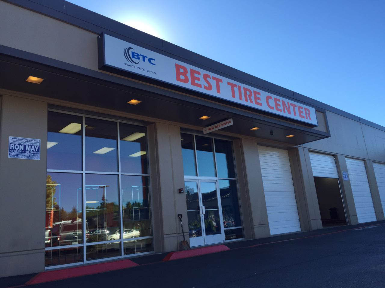 Tire stores in Tacoma, WA - Tire stores in Parkland, WA - outside of Best Tire Center - exterior of Best Tire Center