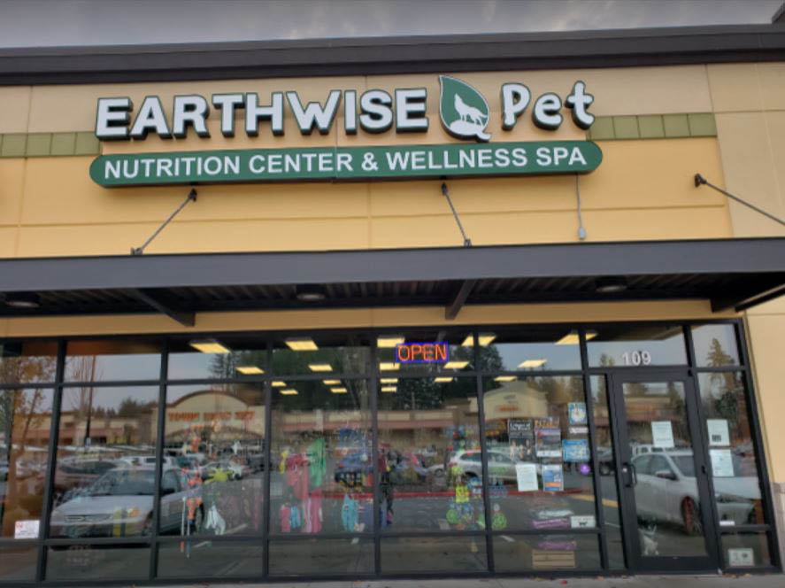Outside Earthwise Pet Nutrition & Wellness Center - pet stores in Woodinville, WA - pet supplies near me - pet store coupons near me