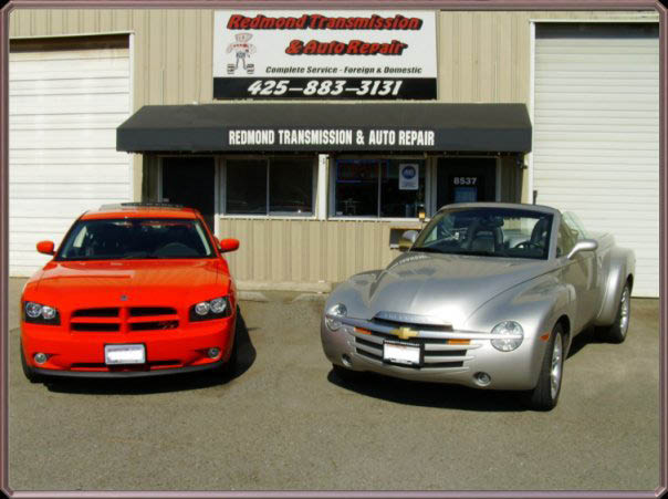 Outside Redmond Transmission & Auto Repair in Redmond, WA - Redmond auto repair shops - general auto repair in Redmond