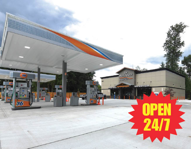 The Marketplace at Echo Falls - convenience stores in Snohomish, WA - gas stations in Snohomish, WA - 76 Gas Station in Snohomish WA