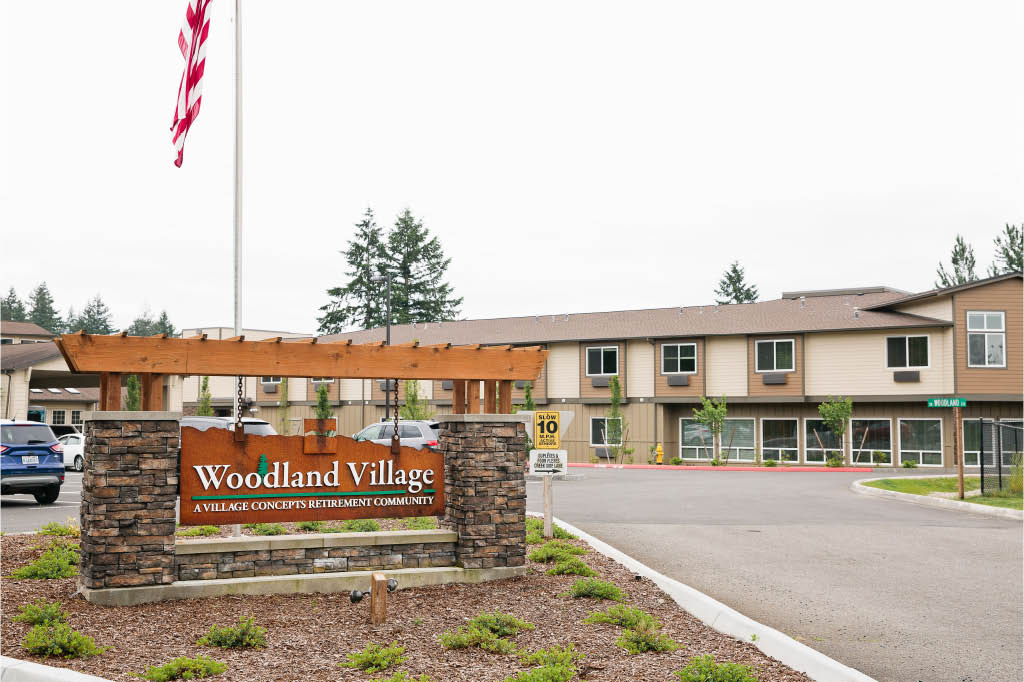 Outside Village Concepts of Chehals, Washington - Woodland Village - Chehalis retirement communities near me
