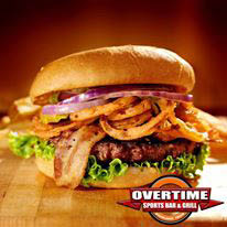 overtime bacon Cheesburger