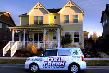 Oxi Fresh offers hardwood, tile and carpet steam cleaning to Denver homes