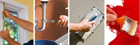 All kinds of home repair services available