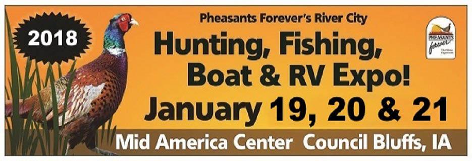 2018 Hunting, Fishing, Boat & RV Expo banner