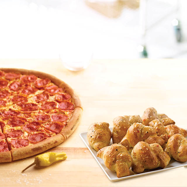 Save on papa johns menu in Rockton IL