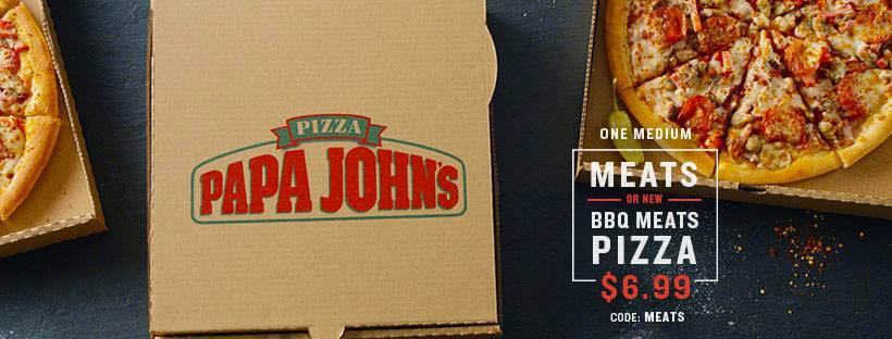 Papa Johns Clinton Township BBQ Pizza