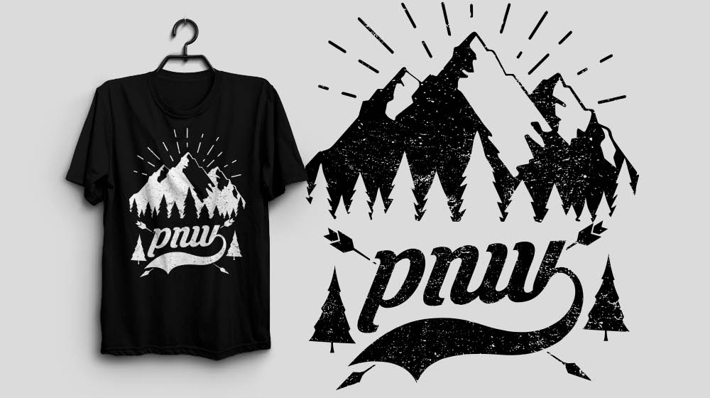 The Pacific Northwest Washington PNW Shirt