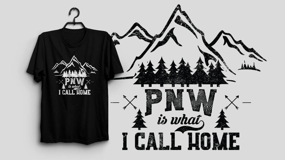 The Pacific Northwest Washington PNW is what I CALL HOME Shirt