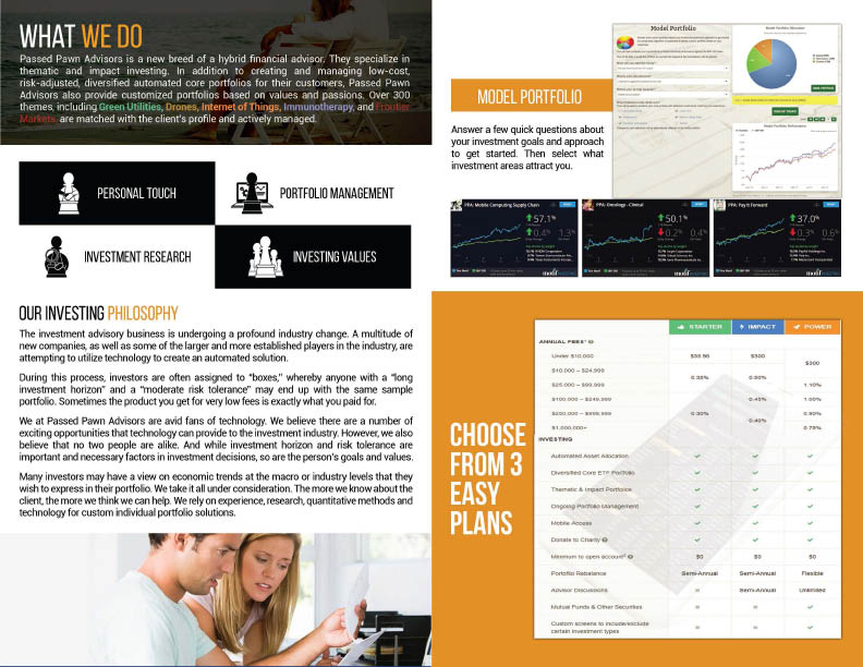 Financial advisor, online