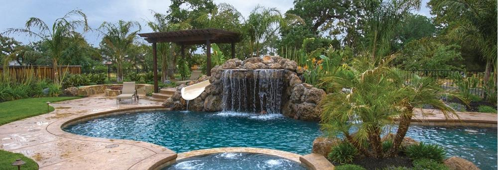 POOL PERFECTION BANNER - NEW POOLS, WATERFALLS, HOT TUBS AND MORE, LARGO, FL