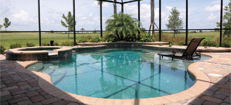 POOL PERFECTION POOL, JACUZZI WITH SIT IN AREA PHOTO, LARGO,FL