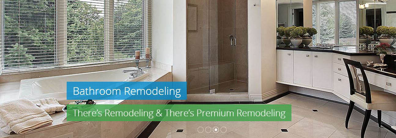 Bathroom and kitchen remodeling are some of the amazing services Premium Remodeling provides