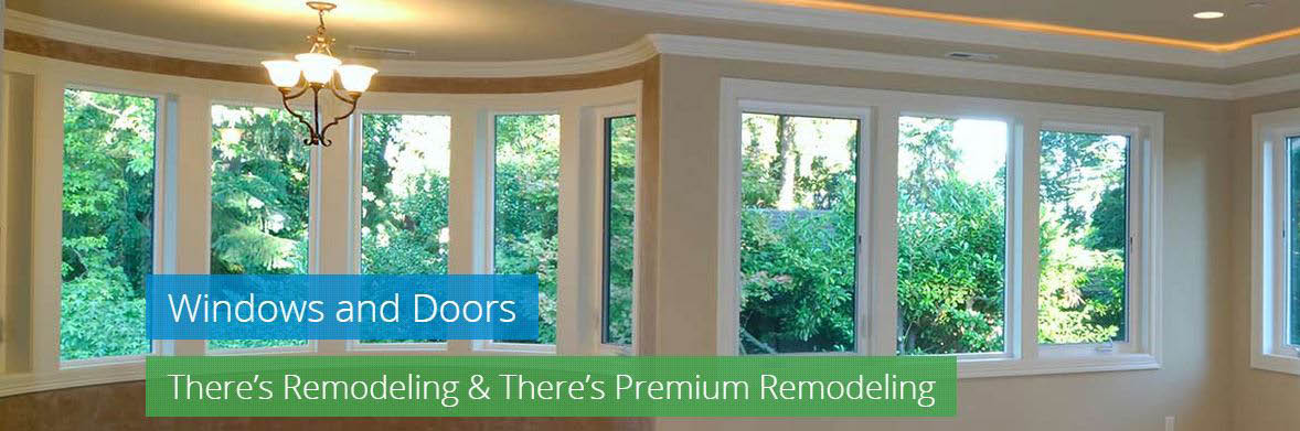 Your windows and doors will bring a whole new look with the help of Premium Remodeling