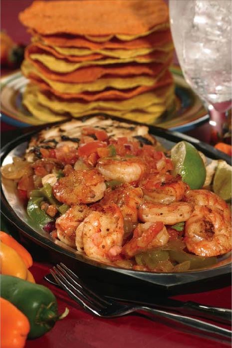 Sin Pancho Mexican Restaurant in Auburn, WA serves delicious fajitas