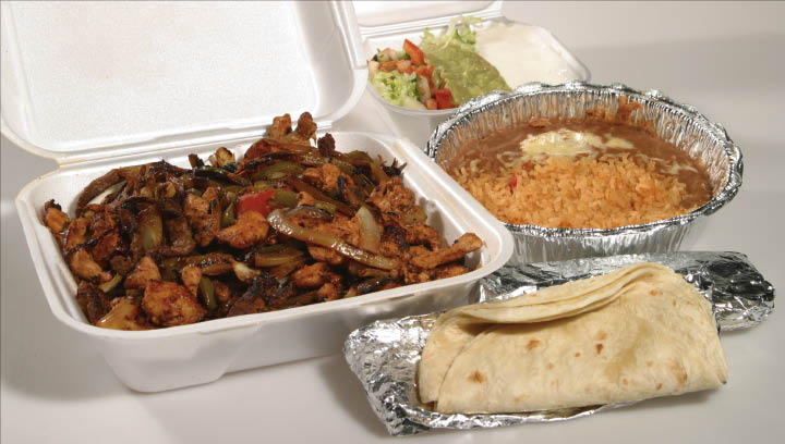 mexican take-out, mexican to-go