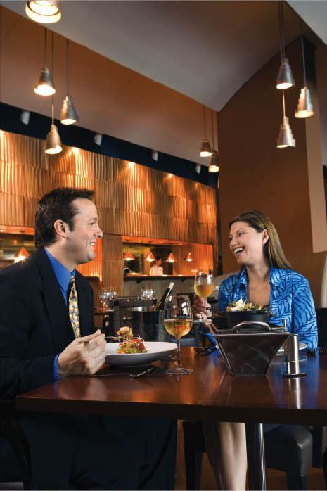 Picture of a couple dining at Sullivan's Public House in Oxford