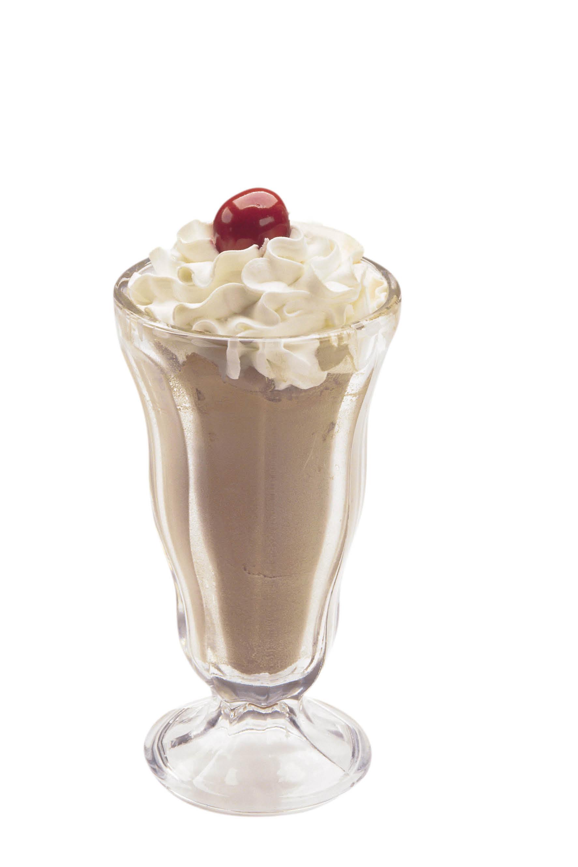Savino's Milk Shakes with cherry on top