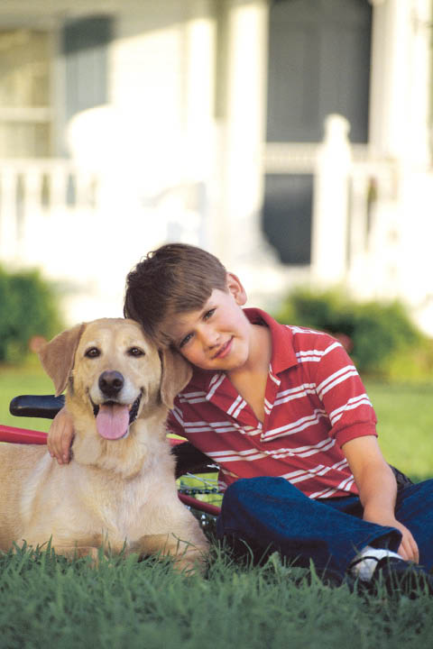A happy dog is your family's best furry friend forever