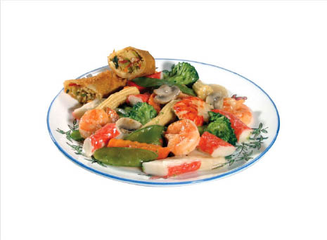 seafood delight from Chopsticks in Emmaus PA